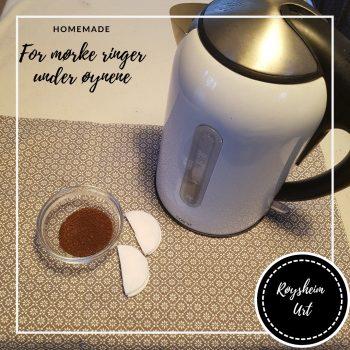 kaffe for mørke ringer under øynene