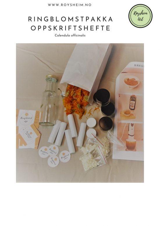 ringblomstpakka oppskriftshefte