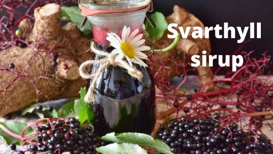 svarthyll sirup
