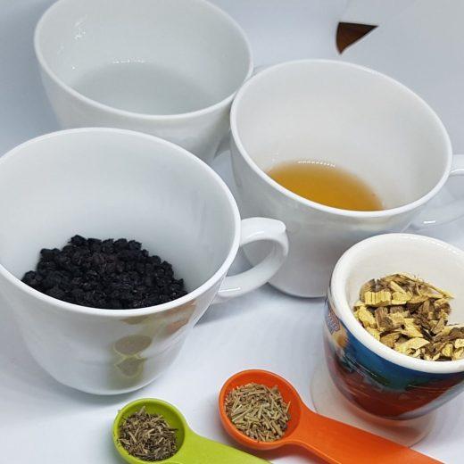 ingredienser til svarthyll sirup