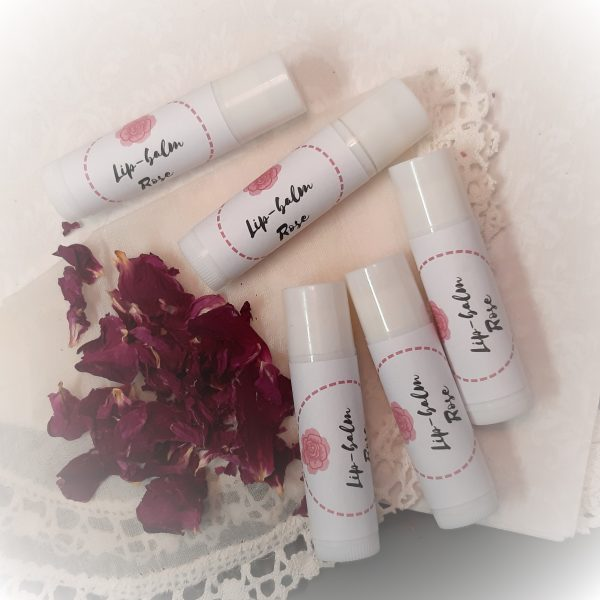rose lipbalm