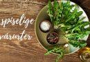 5 spiselige vårurter