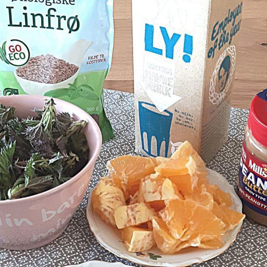 Ingredienser brenneslesmoothie